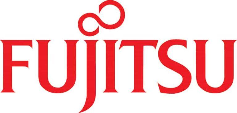 Red Logo of Fujitsu